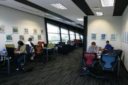 Hazy Library's Study Areas