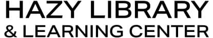 Hazy Library Logo